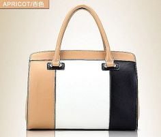 three color lady bat genuine leather shopping bags tote by starbag, $67.99