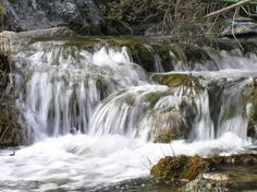 The clear crystal waters of the Brugent river, in Muntanyes de Prdes