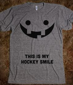 This is My Hockey Smile