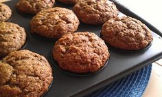 Muffins au banane et aux dattes - Desserts With Biscuits, Cookie Desserts, Beignets, Weight Watchers Meals, Creative Cakes, Muffin Recipes, Scones, Great Recipes, Clean Eating