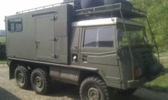 Pinzgauer 712 - 6x6 Overland Expedition Camper Van Truck