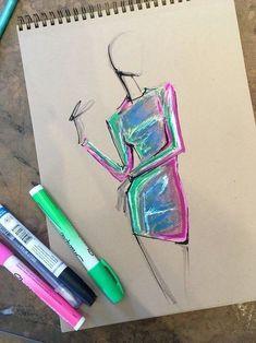 fashion sketchbook 62 Ideas For Fashion Illustration Sketches Inspiration Sketchbooks Illustration Mode, Fashion Illustration Sketches, Fashion Sketches, Drawing Sketches, Art Drawings, Collage Illustration, Rose Drawings, Dress Sketches, Drawing Drawing