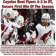 #wwsncoyotes #wwsnflyers #philadelphia #arizona #coyotes #flyers #philadelphiaflyers #jordanmartinook #christiandvorak #brendanperlini #seancouturier #jordanweal #arizonacoyotes #alexgoligoski #scottwedgewood #overtime #goal #puck #canada #icehockey #news #sports #sportsnews #instasports #breakingnews #hockey #hockeynews #nhl #nhlnews #worldwidesportsnews @hockeycoverage