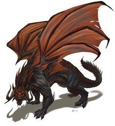 Infernal-Dragon by Davesrightmind on DeviantArt Fantasy Monster, Monster Art, Creature Concept Art, Creature Design, Magical Creatures, Fantasy Creatures, Fantasy Dragon, Fantasy Art, Legendary Dragons