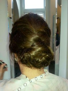 Mother of the bride/groom up-do for a summer wedding in Muskoka