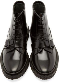 ADIEU Black Type 46 Boots