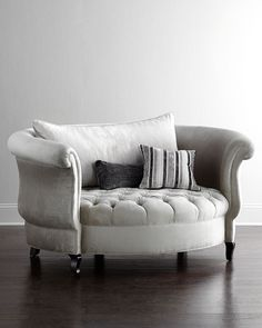 Haute House Harlow Cuddle Chair (NMS15_H729P) - interesting but expensive and won't be able to stretch out your legs