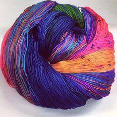 Hand Beaded Silk Yarn – Darn Good Yarn