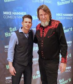 """""""Texas Chainsaw Massacre"""" Actor Edwin Neal is Back for a Second Helping of """"The Mike Hammer Comedy and Magic Show"""" at Four Queens Hotel & Casino in Las Vegas"""