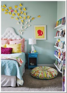 'Big' Girl Bedroom ideas.  Very, very cute