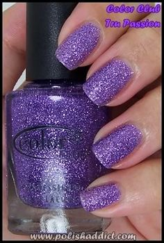 The Polish Addict » Blog Archive » Color Club Glitter Vixen Collection Swatches