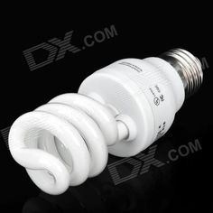 Brand: SKY BLUE; Model: EFTR11EX; Material: Metal + Plastic; Color: White; Quantity: 1; Emitter Type: Streamline; Total Emitters: 2; Power: 15 W; Color BIN: White; Rate Voltage: 220~230 V; Luminous Flux: 180 lm; Color Temperature: 6500 K; Connector Type: E27; Application: Decration for house; Features: Energy-saving; Packing List: 1 x Bulb; http://j.mp/1p11EtY