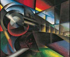 Ivo Pannaggi - Speeding Train, 1922
