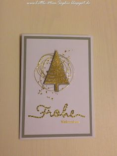 Little-Miss-Sophie. Weihnachten. Karten. Stampin up