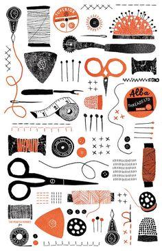 Fashion Illustration Design Beyond Measure - Louise Lockhart Art And Illustration, Pattern Illustration, Illustrations And Posters, Illustrators, Screen Printing, Print Patterns, Pattern Design, Doodles, Couture