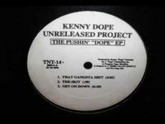 Kenny Dope - Get On Down from Pushin' Dope EP [TNT, 1994]. Instrumental Hip-Hop.