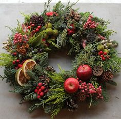 Fresh Christmas Wreath – K's flower novo
