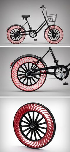 Airless tires #taobike