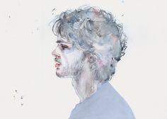 Tumblr #agnescecil #watercolor  My musician https://www.facebook.com/agnescecile