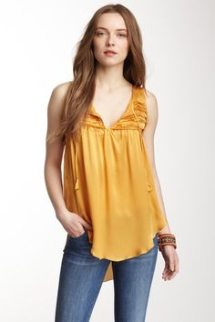 Calypso St. Barth Kristen Silk Top