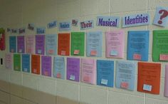 King's Music Room: Music in Our Schools Month Staff Surveys Library Lesson Plans, Library Lessons, Music Education Activities, Music Bulletin Boards, Music Studio Room, Music Classroom, Classroom Ideas, Classroom Organization, Classroom Projects