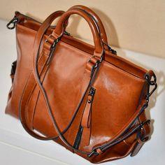 Fashion Glossy Commuter Handbag Shoulder Bag