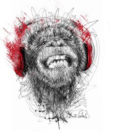 Des illustrations à base de gribouillis par Erick Centeno