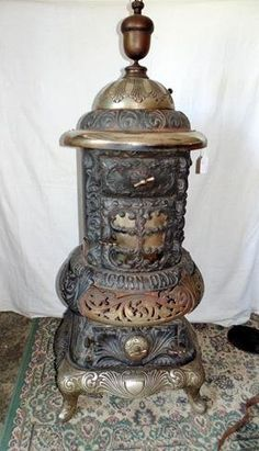 Acorn Oak Cast Iron Stove