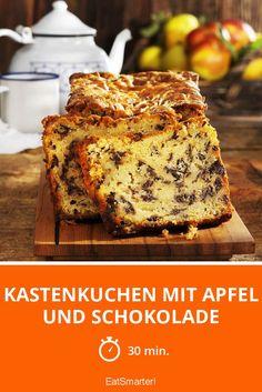 Kastenkuchen mit Apfel und Schokolade - smarter - Zeit: 30 Min. | eatsmarter.de