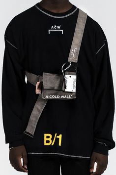 A COLD WALL Fall Winter 2016 New Items Belt Tee T shirt Scarf Scarves Bag Tote - 1820053