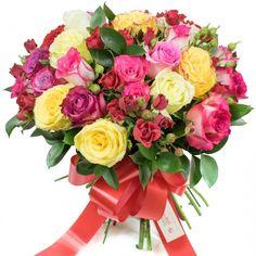 #CrazyinLove #love #romance #flowers #roses #colorful #bouquet #floristuk #london