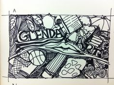 Freehand illustrations & courseworks by Glenda Ho at Coroflot