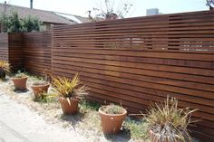 mid century modern fence design - Google Search