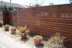 mid century modern fence design - Google Search