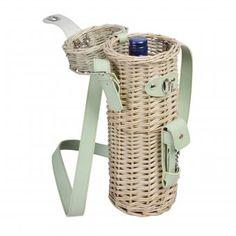 """Esschert Design wine bottle basket """"Botanicae"""" #wine #accessoires"""