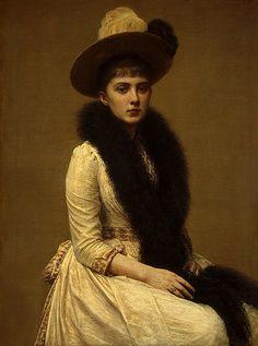Henri Fantin-Latour 'Portrait of Sonia' 1890 | Flickr - Photo Sharing!