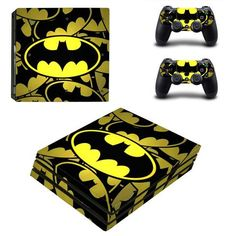 Batman PlayStation 4 pro skin decal for console and controllers