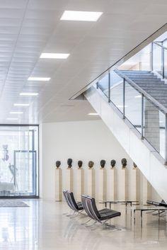 Parliament of Baden-Württemberg, Stuttgart (Germany) Landtag von Baden-Württemberg, Stuttgart (Deutschland) #luminaire #lighting #beleuchtung #licht #design