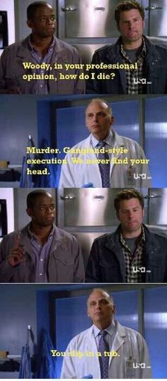 Psych is one of the best tv shows ever created! Psych Memes, Psych Quotes, Psych Tv, Tv Quotes, Movie Quotes, Funny Quotes, Fandom Memes, Memes Humor, Funny Memes