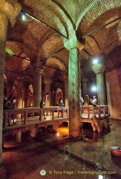 Yerebatan Sarnici – Istanbul's Sunken Palace