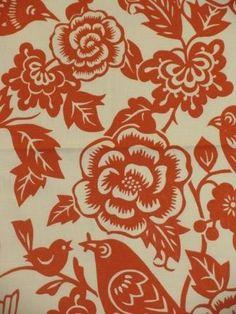 Merona Mango - www.BeautifulFabric.com - upholstery/drapery fabric - decorator/designer fabric