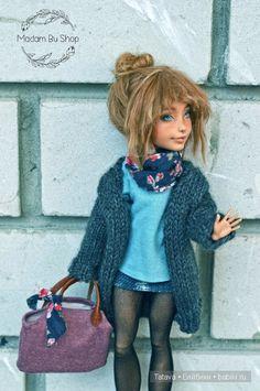 ООАК Superhero DC Girls Supergirl / Авторские куклы (ООАК) / Шопик. Продать купить куклу / Бэйбики. Куклы фото. Одежда для кукол