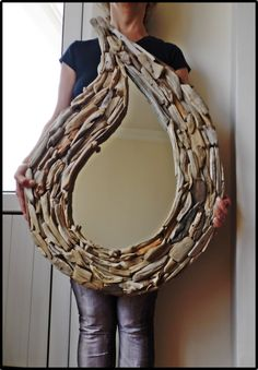 Driftwood drop mirror 80 * 50 cm. ... www.facebook.com/groups/ergeturkaydin/