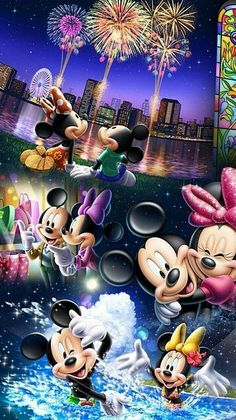 Mickey & Minnie's memorable moments together.