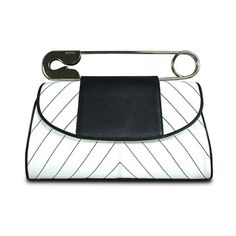 Safety pin design is fantastic!  Santa Monica Safety Clutch  by BODHI Bags