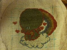 Hand embroidered little Thulhu