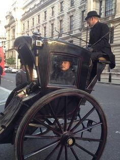 Martin Clunes as Sir Arthur Conan Doyle filming the TV drama Arthur and George. Oct 2014