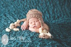 Newborn Hat Baby Hat Crochet Baby Boy Hat Infant Hats by effybags, $19.50