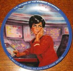 Star Trek Collector Plate: Lieutenant Uhura Hamilton https://www.amazon.com/dp/B0014M7XTE/ref=cm_sw_r_pi_dp_ex7Hxb17W6SJD
