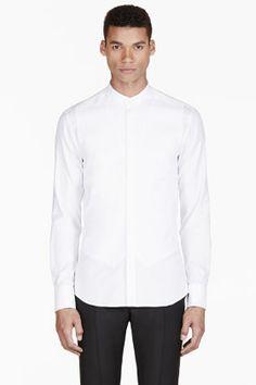 ALEXANDER MCQUEEN White Trompe L'Oeil Shirt